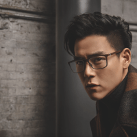 Boss Eyewear Fall/Winter 2016 Campaign expressed by celebrity actor Eddie Peng