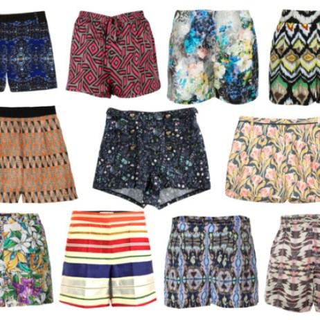 SUMMER PRINTED SHORTS