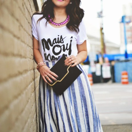 PATTERNS & POPS – CHIC STYLE LINK UP