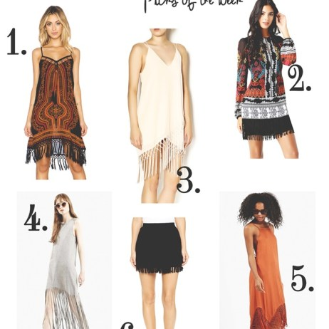 SHOPPING PICKS OF THE WEEK: 6 FRINGED ITEMS YOU NEED RIGHT NOW!
