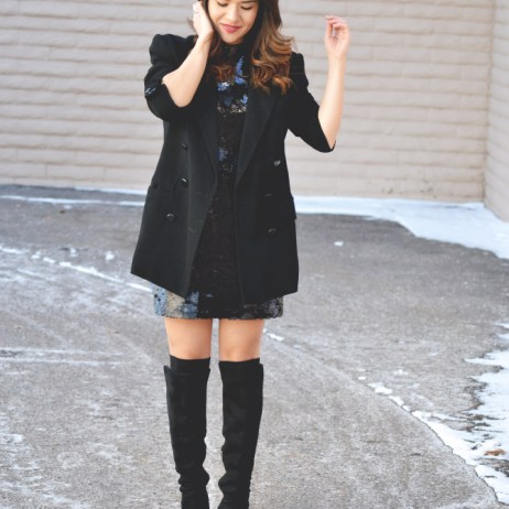 LAST MINUTE NYE OUTFIT INSPIRATION