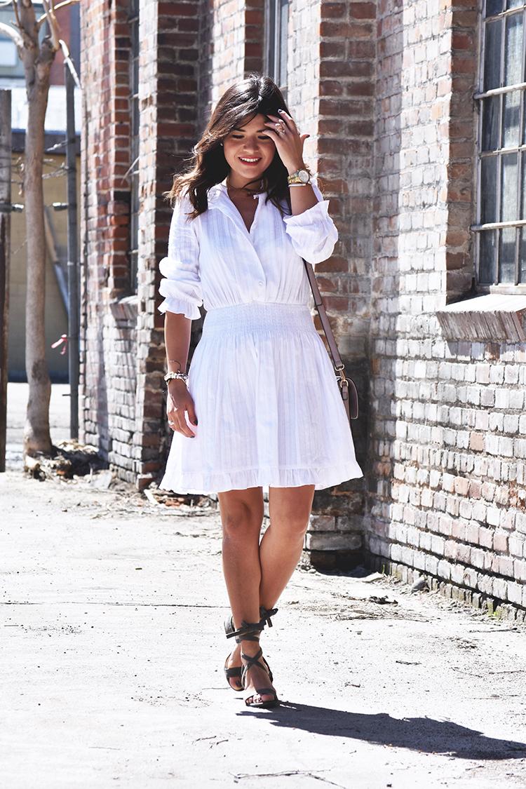 Chicwish white little dress