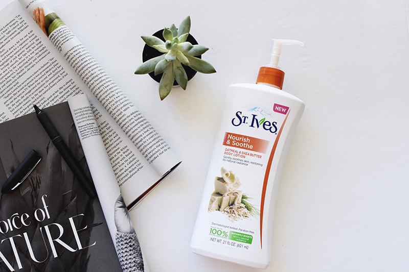 St.Ives body lotion review