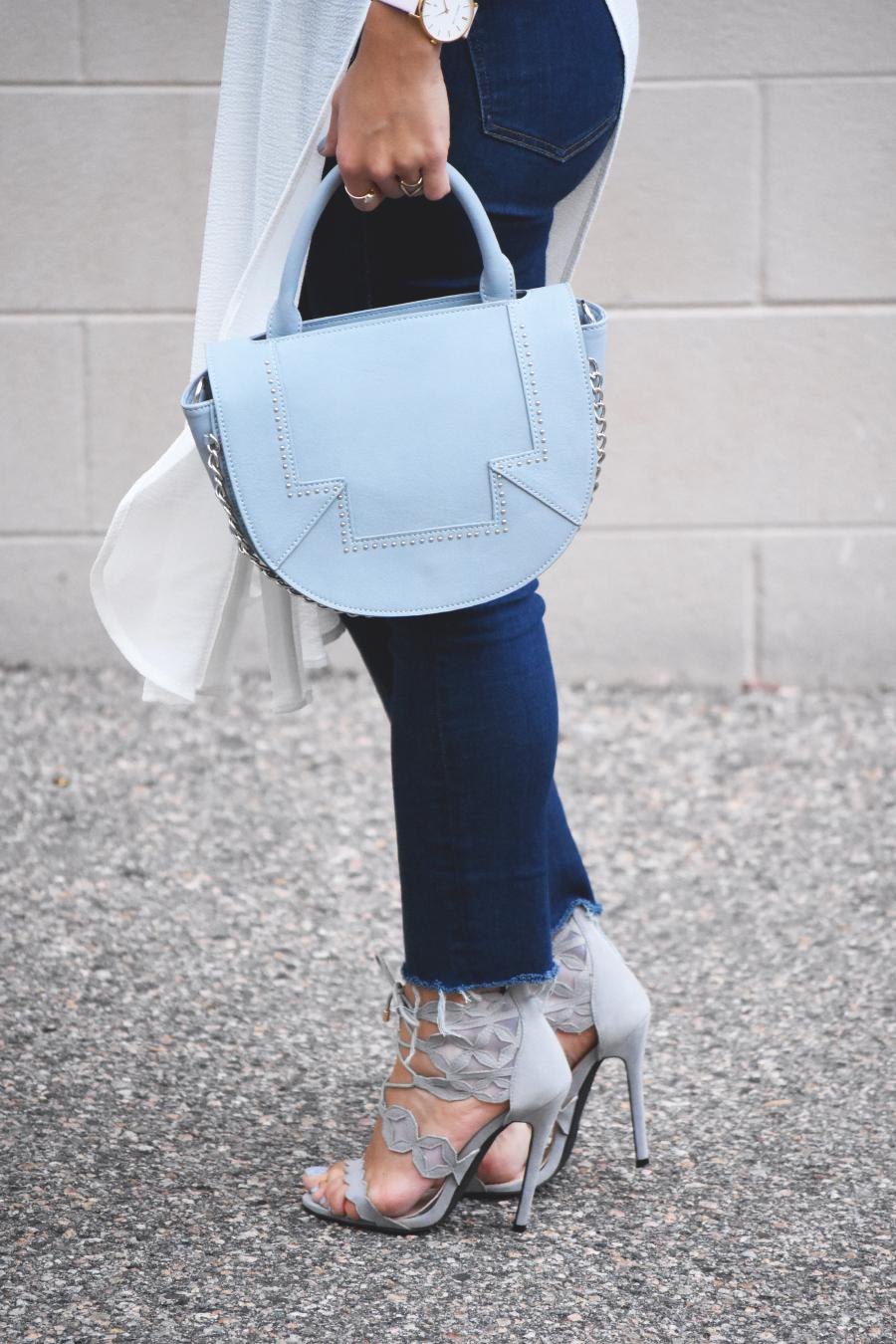Danielle Nicole blue handbag