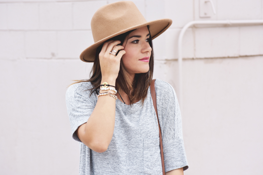 Forever 21 brown hat