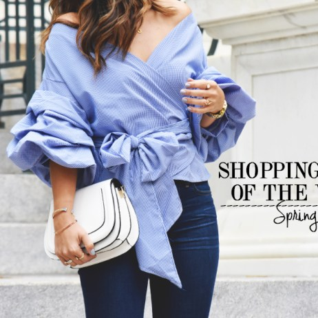 SHOPPING PICKS OF THE WEEK: SPRING MUST HAVES