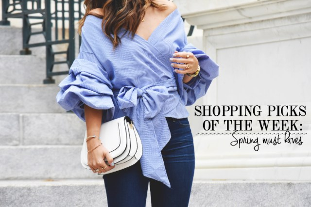 Shopping picks fo the week