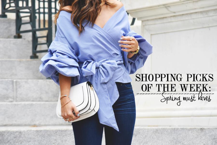 Shopping picks fo the week