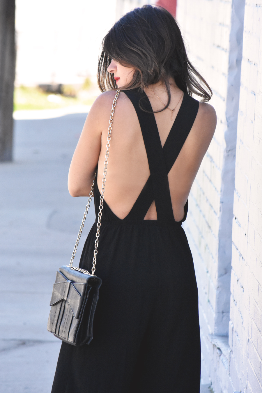 Tobi cross back jumpsuit
