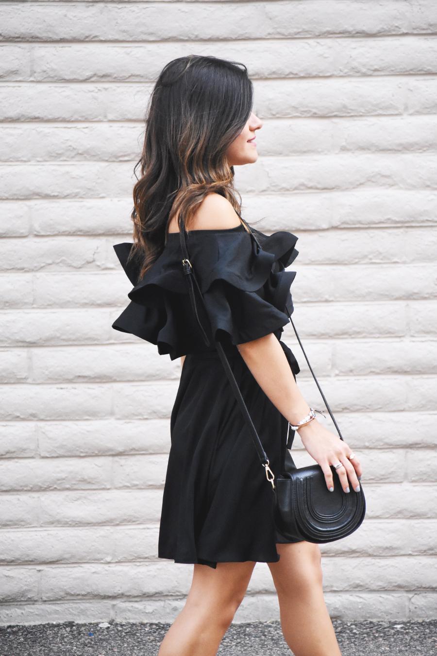 Chicwish ruffle dress