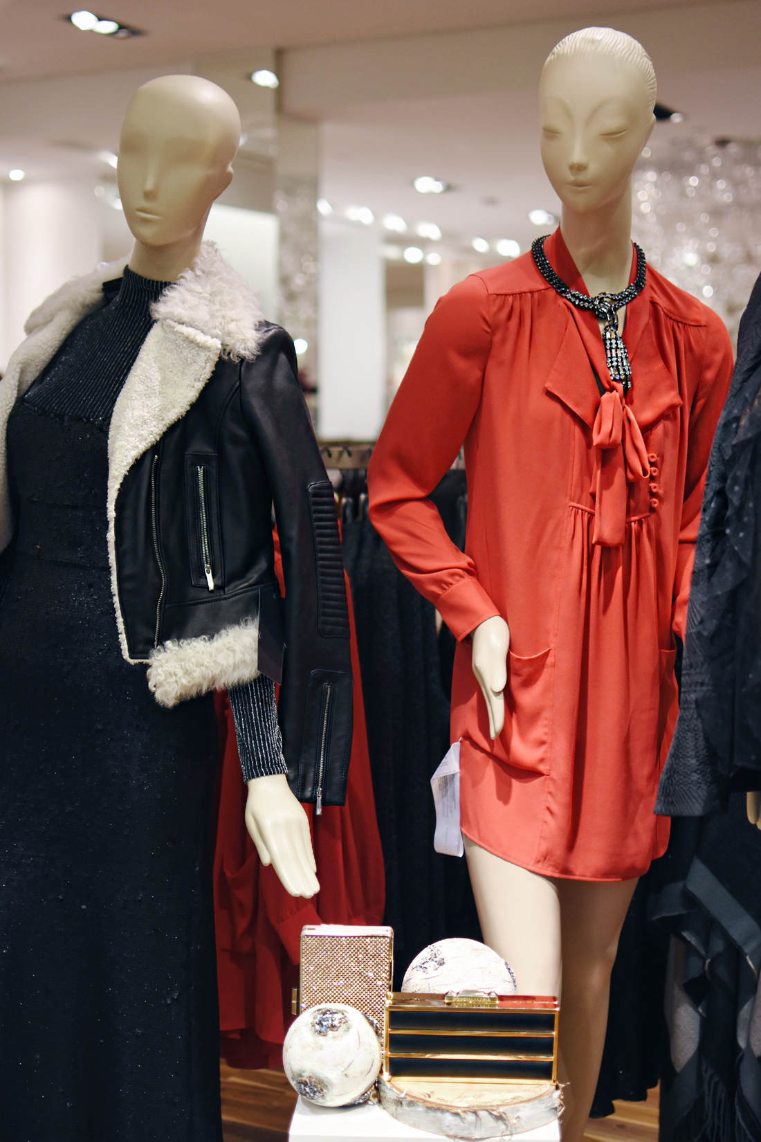 BCBG red dress - Cherry Creek mall in Denver