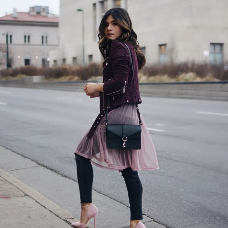 HOW TO WEAR A TULLE TOP