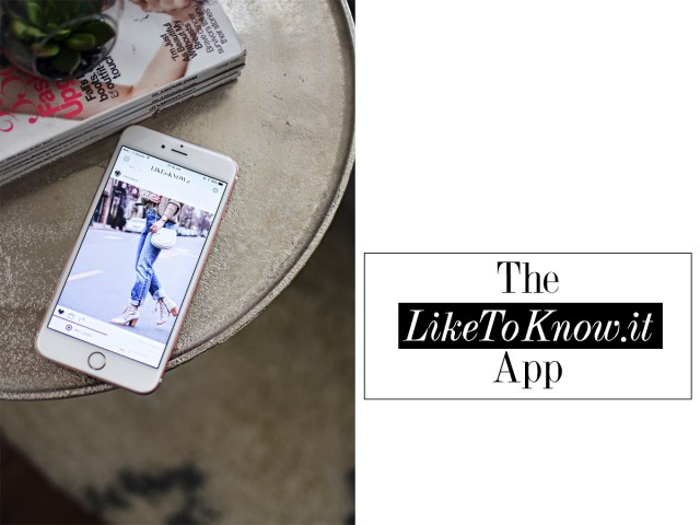 The LikeToKnow.it app