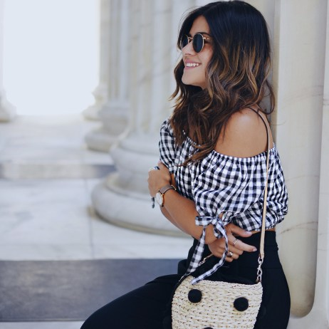 HOW TO STYLE GINGHAM PRINTS THIS SUMMER