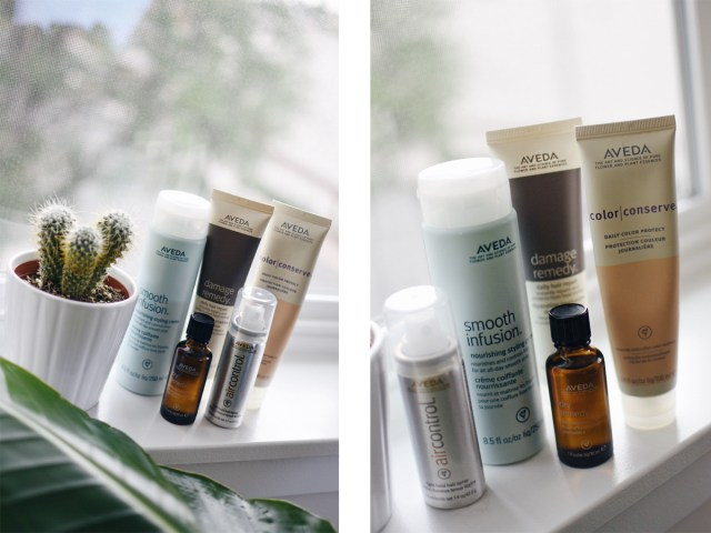 Aveda after shower hair must-have products