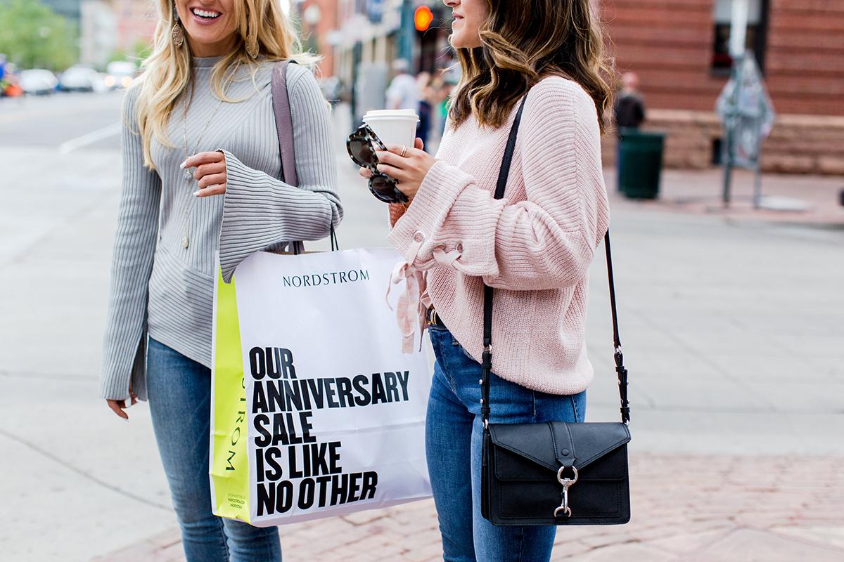 Nordstrom Anniversary Sale 2017. Carolina Hellal, Desire Falk and Amber Wilkerson