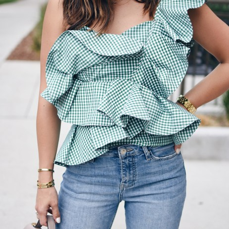 THE GINGHAM TOP YOU NEED RIGHT NOW
