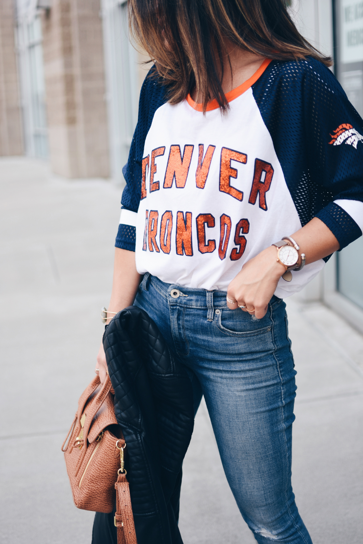 HOW TO STYLE YOUR DENVER BRONCOS GEAR