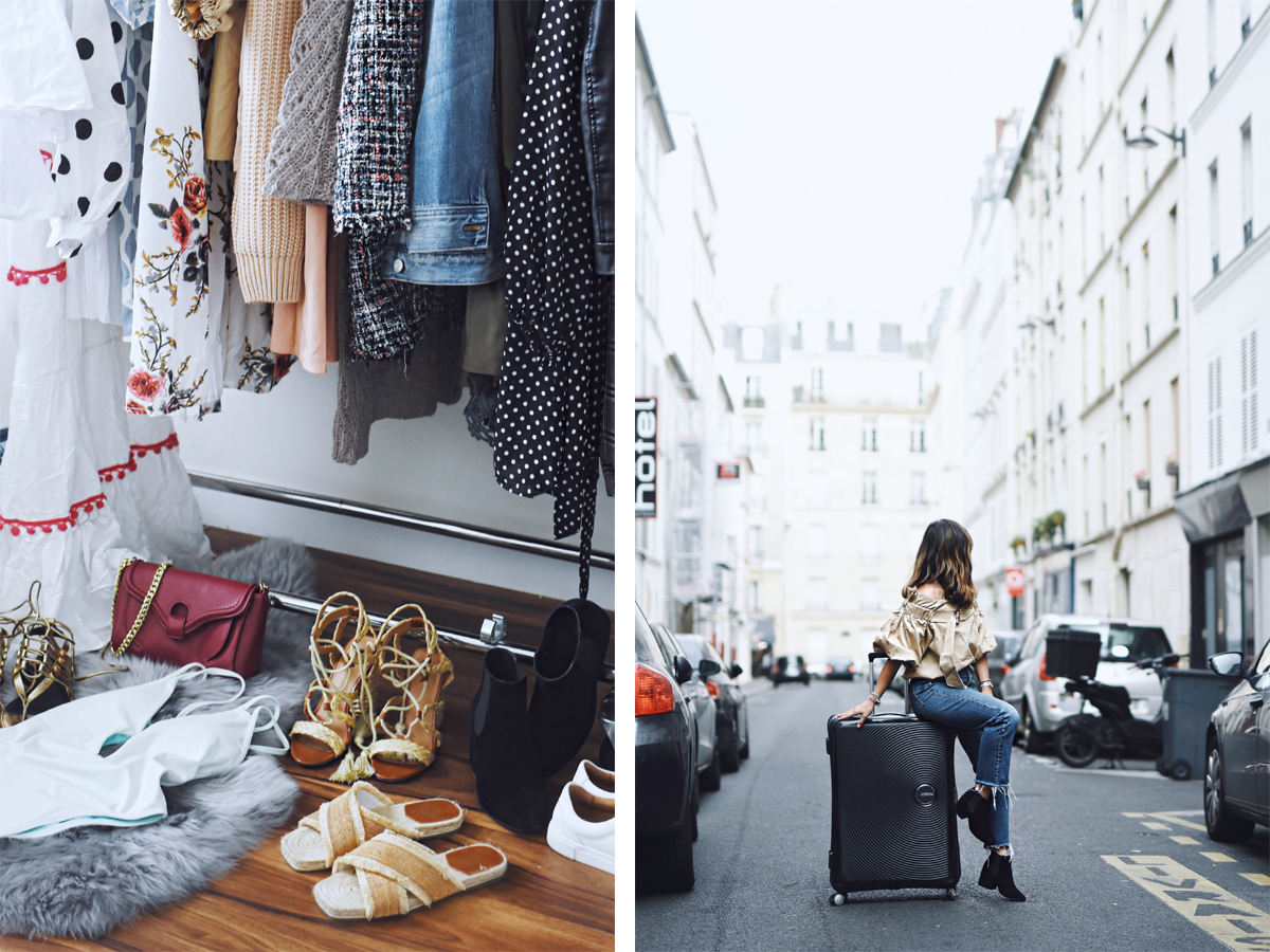 American Tourister six word itinerary Paris
