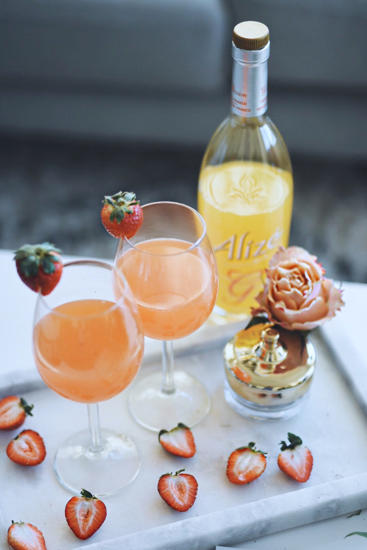 Fall inspired cocktail with Alizé Passion
