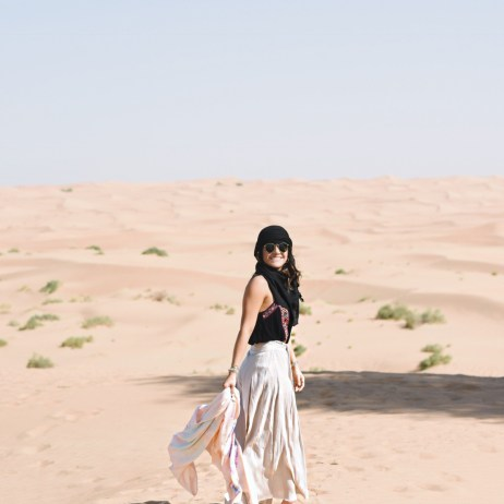 EXPLORING DUBAI WITH NUDWEAR