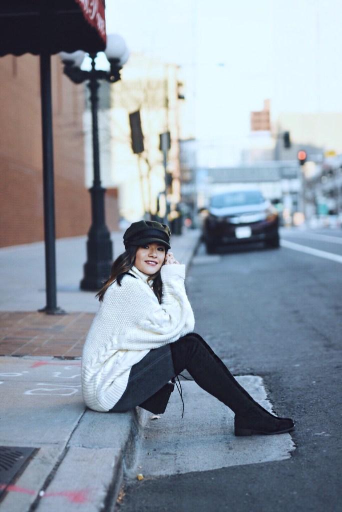 BEST KNIT SWEATERS UNDER $100 by popular Denver fashion blogger Chic Talk