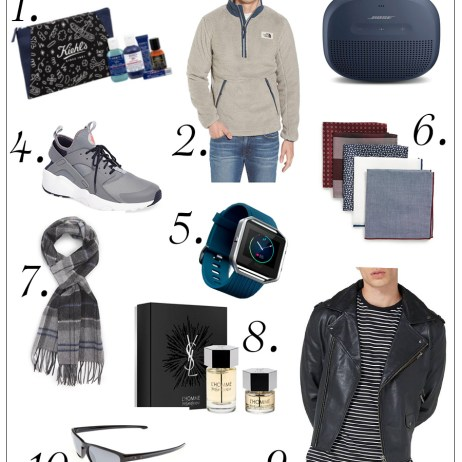 HOLIDAY GUIDE 2017: GIFTS FOR HIM
