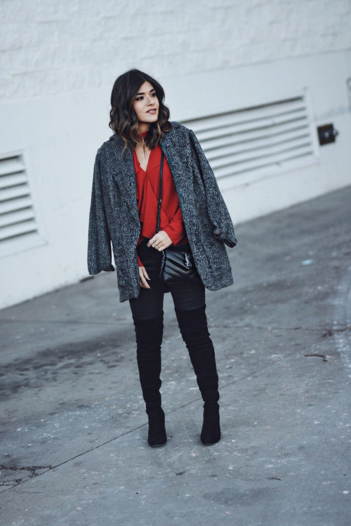 STYLING RED IN DECEMBER + A $1000 NORDSTROM GIFT CARD GIVEAWAY