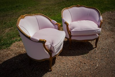 Buenos Aires French Tub Chairs upholstered by Chic Upholstery
