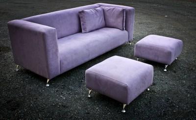 Mauve Custom Built Lounge