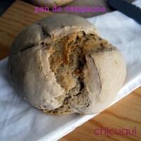 Cómo hacer pan rústico tipo campagne