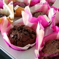 Receta de Muffins de chocolate, espectaculares!