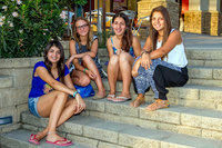 Foto 17 Victoria Rojo, Keely Creel, Sofía Jofré y Denisse Catalán