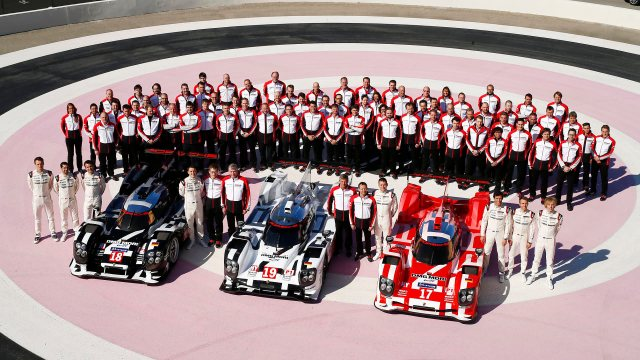 Porsche Team, Porsche 919 Hybrid in 2015 Le Mans colors