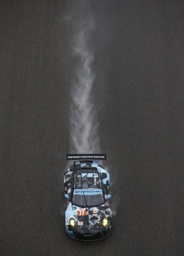 FIA WEC 2015: 24 Heures du Mans Porsche 911 RSR, Dempsey Racing Proton: Patrick Dempsey, Patrick Long, Marco Seefried