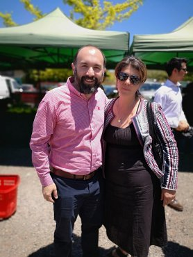 2. Javier Maldonado y Cecilia Orellana