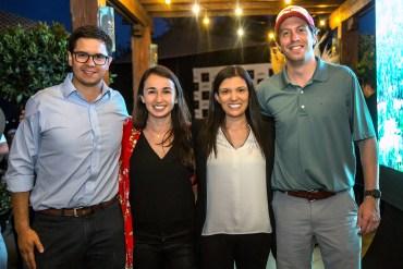 Rodrigo Barros, María Ignacia Concha, Jocelyn Pinto y Felipe Ibarra