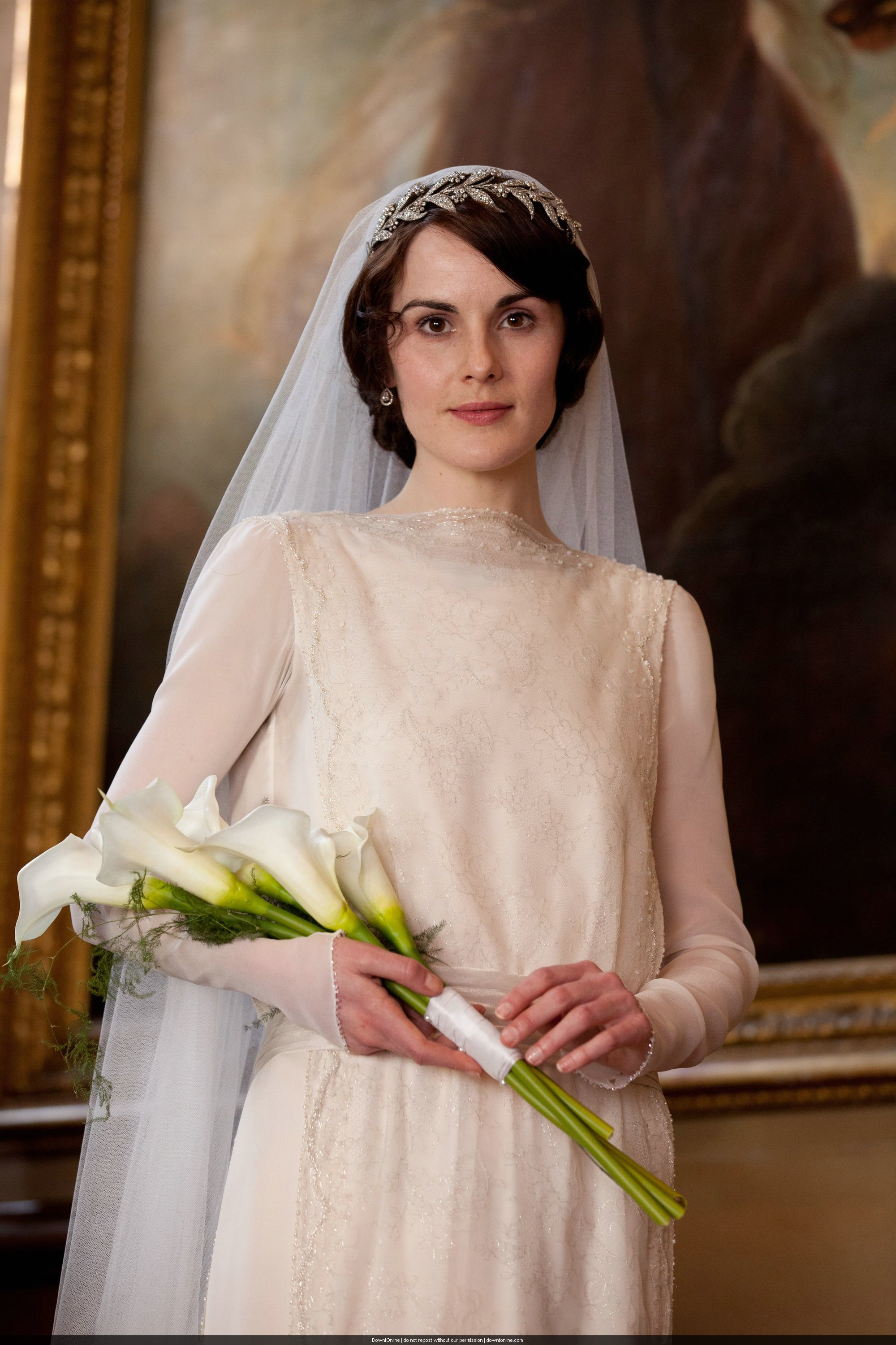 Downton Abbey Series 3 Mary Matthew S Wedding Chic Vintage Brides