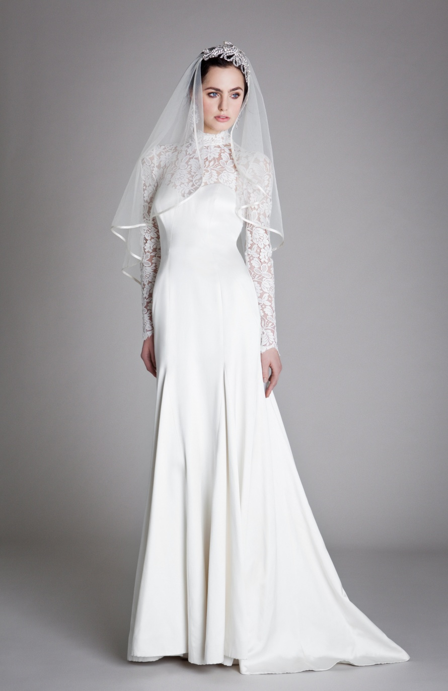 Snippets, Whispers & Ribbons - Long sleeved Vintage Wedding Dresses for an Autumn Bride