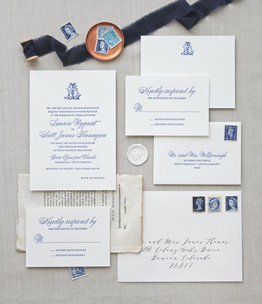 Royal Inspired Wedding Stationery