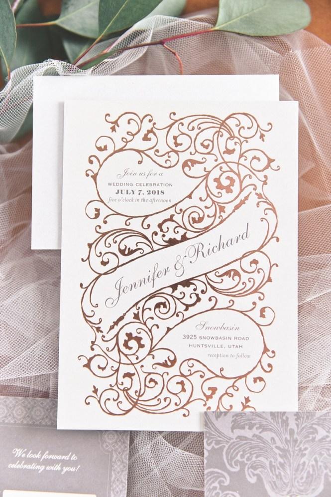 Invitations From Wedding Paper Divas