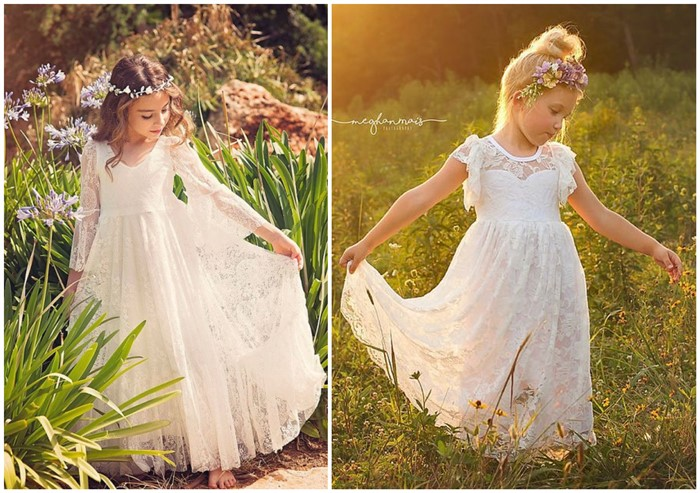 20+ Cutest (and Affordable) Flower Girl Dresses For The