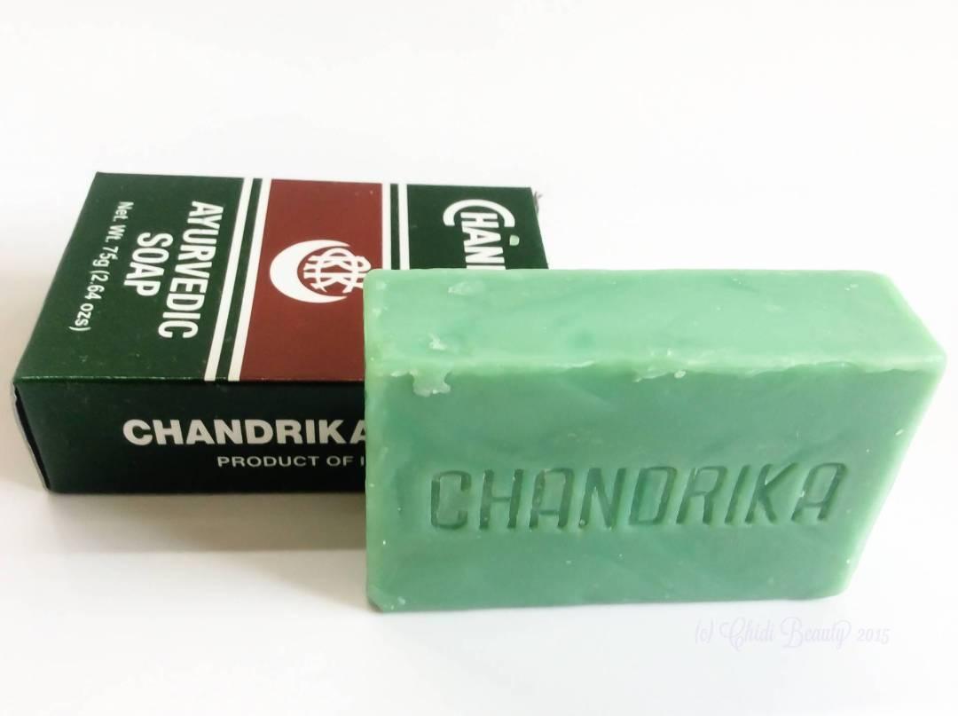 Chandrika Ayurvedic Soap (75 g/2.64 oz)