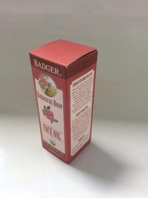Badger Damascus Rose Face Oil in Box