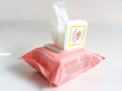 Burt's Bees Facial Cleansing Towelettes Wipes