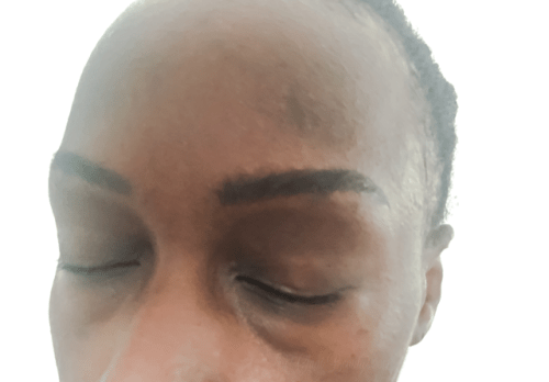 Microblading Eyebrows African American Skin • chidibeauty.com