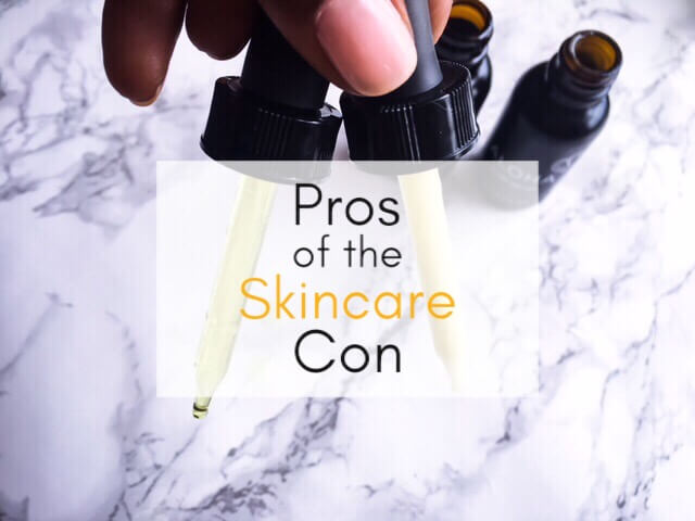 Pros of the Skincare Con