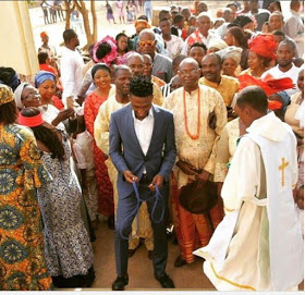 BBA winner Efe's thanksgiving service in Jos