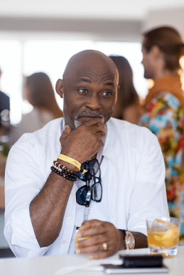 Nollywood Legend RMD dapper as he joins Don Jazzy & Mo Abudu in Monaco ahead of today's Grand Prix
