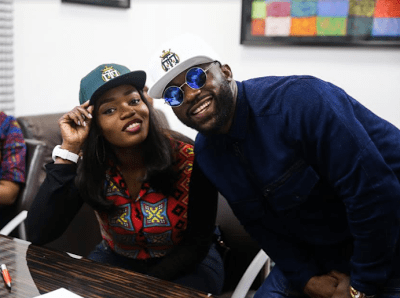 Ex- Big Brother Naija house mate, Bisola reunites with Iyanya as she signs new management deal